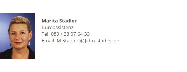 Marita Stadler IDM Stadler München